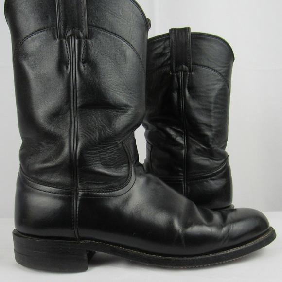 c82657eb81b  Justin Cora classic kipskin roper boot 7 1/2B